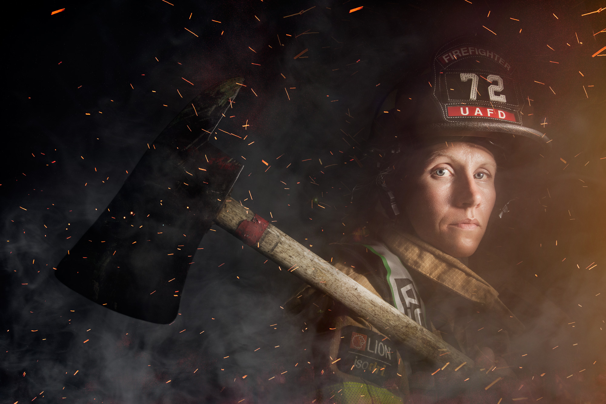 cc2016036 - Mindy Gabriel, firefighter, Upper Arlington, Ohio, for Women