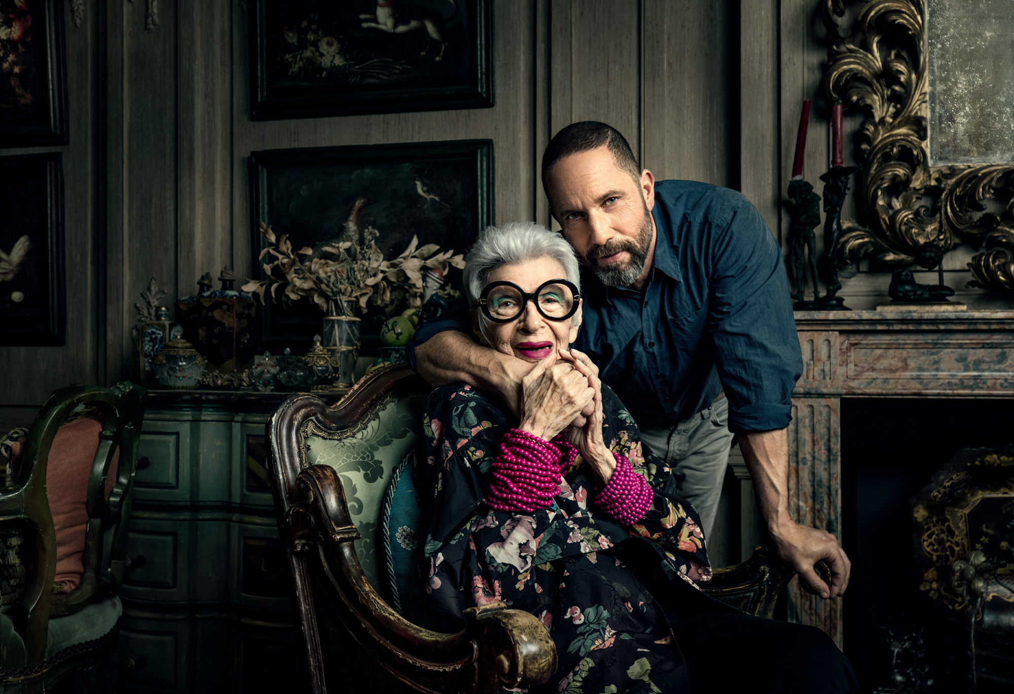 cc2017010 - Iris Apfel and Alexis Bittar for AARP Magazine