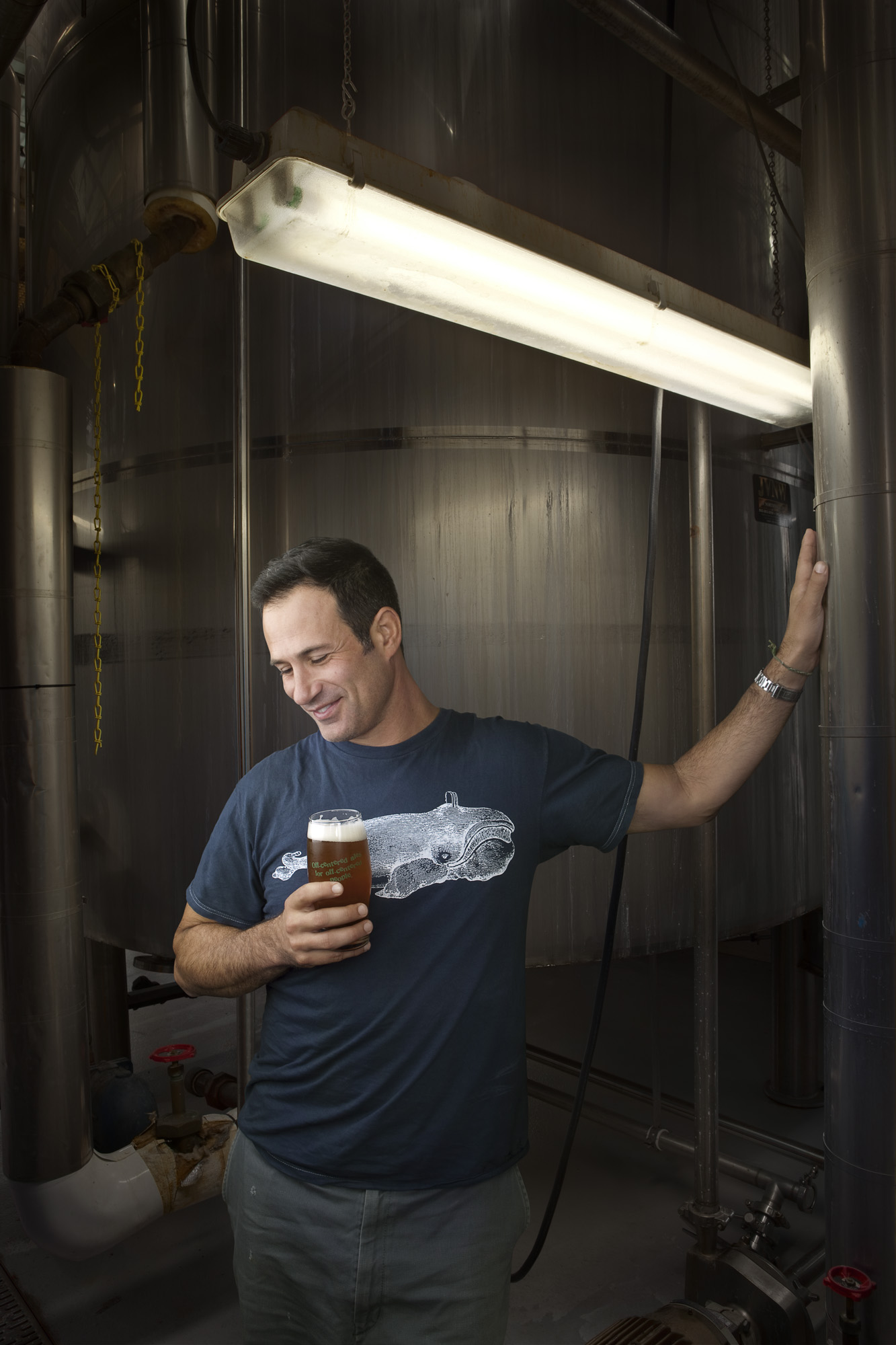 cc2010080 - Sam Calagione, founder of Dogfish Head Brewery, for