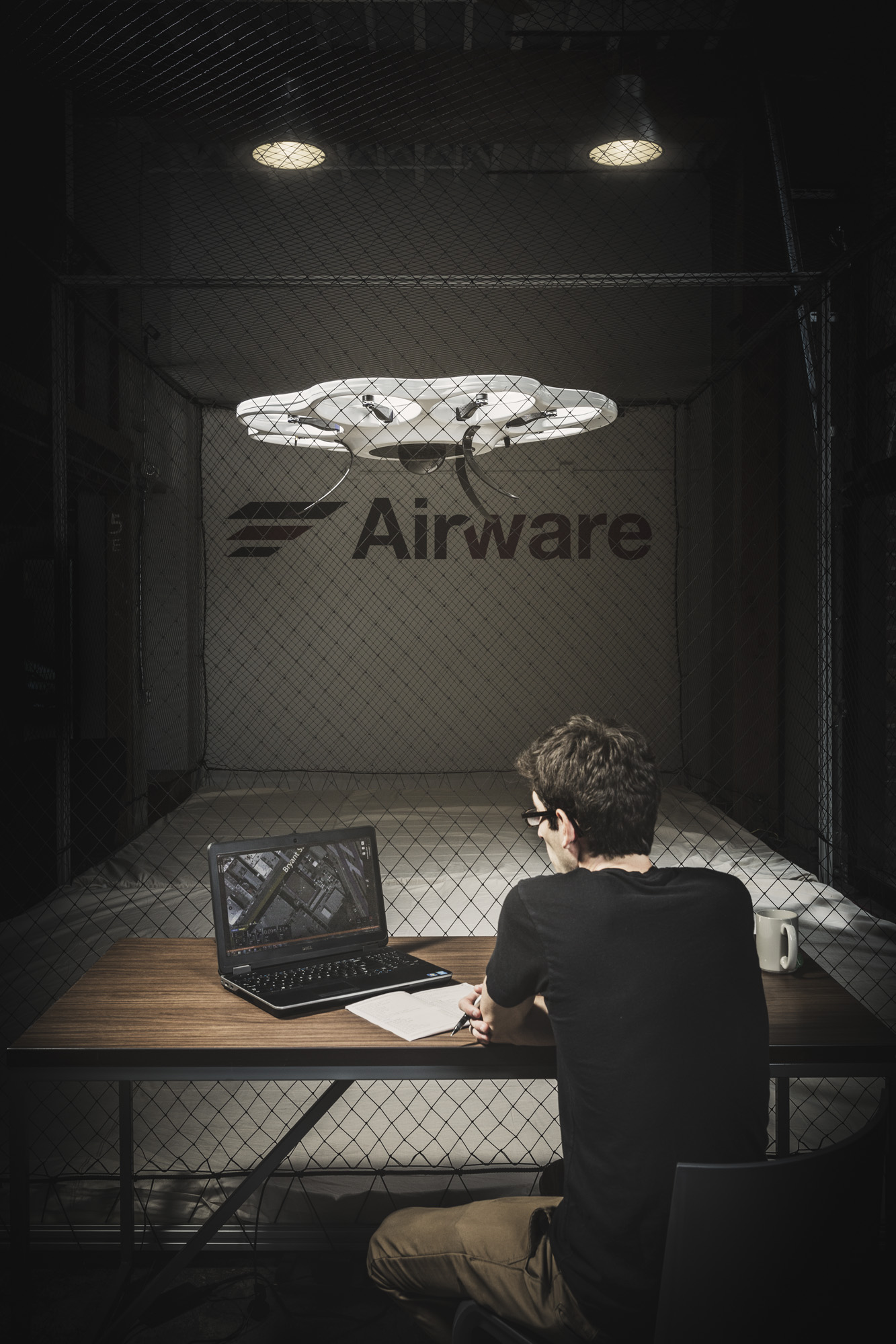 cc2015012 - Drone companies Airware and 3DRobototics photographed in San Fransisco, CA for Wired UK Magazine