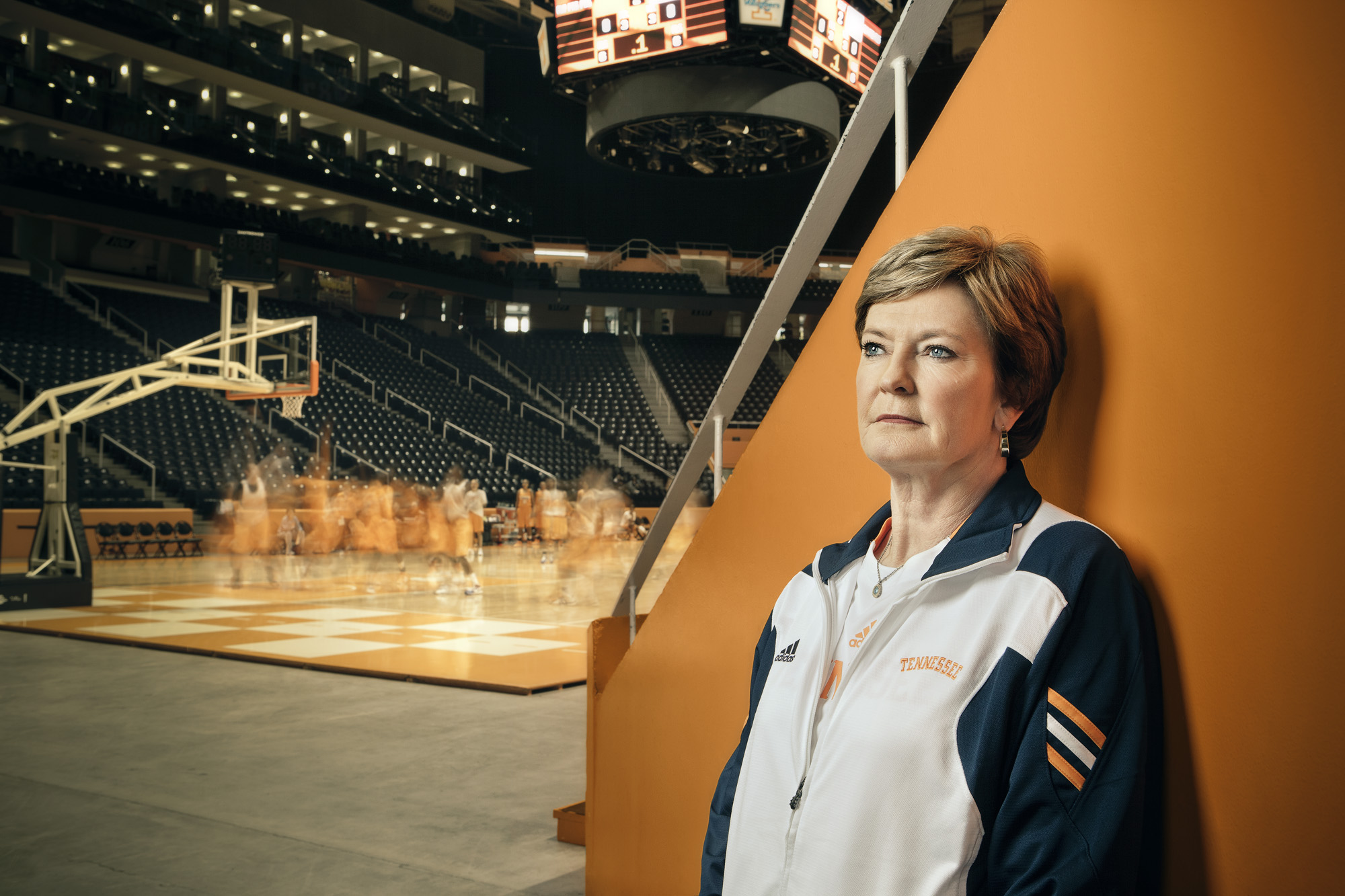 cc2011062 - Coach Pat Summitt for AARP the magazine